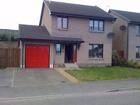 3 Bed detached house for rent in Newtonhill, unfurnished (available from 9th June 2017)