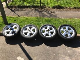 4x Alloy Wheels And Brand New Tyres