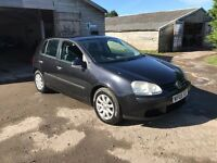 2005 Volkswagen Golf 1.9Tdi 1 Owner From New Mot til 08/17 Full Service History Good Spec
