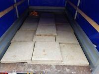 patio slabs 450 x 450 x50 got 65