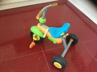 Baby Trike, toddler trike, push along tricycle, pedal power