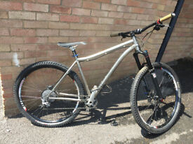 Titus Fireline - Titanium Enduro and Trail Bike - XTR Easton 150mm Pikes Fabric Reverb dropper