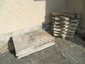 Paving slabs, two sizes, for sale