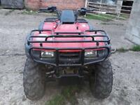 Honda quad bike