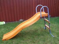 Child's garden slide.