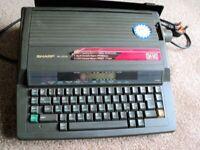 Sharp PA-3030 Electric Typewriter