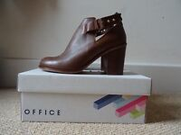 👢BRAND NEW Women's Real Leather Uncle Boots UK 6👢