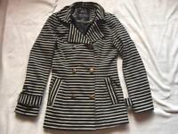 Atmosphere ladies jacket black grey size 10 used £4