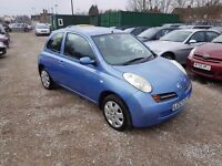 Nissan Micra 1.2 16v SE 3dr, FULL SERVICE HISTORY. HPI CLEAR. LONG MOT. GOOD CONDITION, P/X WELCOME