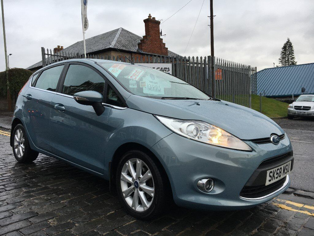 FORD FIESTA 1.6 ZETEC TDCI, 58 PLATE 2008.ONE OWNER CAR...F.S.H...£20 ROAD TAX...68 MPG...ECO HATCH