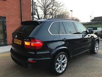 BMW X5 2009 M SPORT SD TWIN TURBO 285 BHP ** 1 OWNER FROM NEW ** 12 MONTH MOT ** 2 KEYS FULL SERVICE