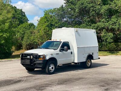 2006 Ford F-350 4X4 KUV 6.0 Diesel Enclosed Utility Service Truck PowerStroke