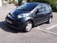 2008 CITROEN C1 1.0 RHYTHM ONLY £20 TAX 75000m IDEAL FIRST CAR LOW INSURANCE GROUP PART EX WELCOME