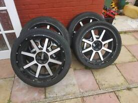 "22"" wheels"
