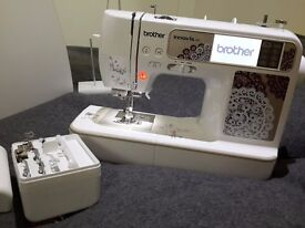 Brother - sewing and embroidery machine + many accesories NEW warranty