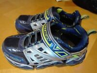 Like new Sketchers outdoor shoes/ trainers for boys UK13,5 (EU33)
