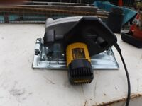 Dewalt DW 383 large skill saw 240 volt