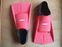Maru swimming training fins UK size 2.5 - 3