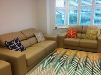 Used Gamamobel Leather Sofa Suite - £149 o.n.o. NEEDS TO BE COLLECTED BY FRIDAY