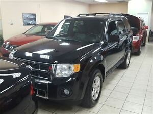 2010 Ford Escape Accident-free, limited, leather and sunroof, AW