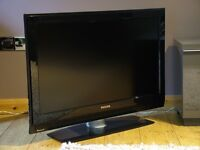 """37"""" PHILIPS LCD TV with FREEVIEW 2xHDMI and FREE DELIVERY"""