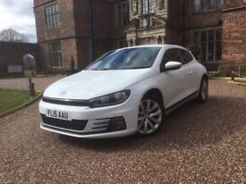 2015 VOLKSWAGEN SCIROCCO TSI BLUEMOTION TECH 1.4 PETROL 3DR **LOOKS AMAZING + MUST BE SEEN**