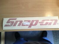 snap on sticker large snap on tools sticker