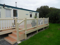 Static caravan Atlas Everglade Super 2005,35 x 12 ,3bed 8 berth,sited Mullion Cornwall, TR127LJ