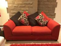 Two x 2 seater settees