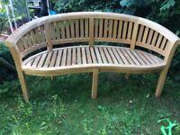 Hardwood Gsrden Bench NEW
