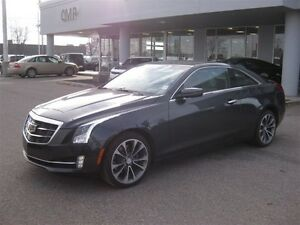 2015 Cadillac ATS 2.0L Turbo  Coupe Leather Sunroof NAV