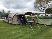 Outwell Concorde L tent, footprint and carpet
