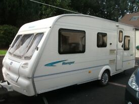 Bailey Ranger 500/5. 5 Berth Caravan.