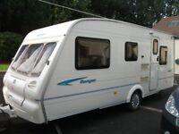 Bailey Ranger 500/5. 5 Berth Caravan.
