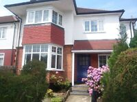 LOVELY LARGE 4 DOUBLE BEDROOM/2 BATHROOM SEMI-DETACHED HOUSE, IN QUIET TREE-LINED STREET