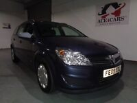 VAUXHAULL ASTRA LIFE A/C A BLUE 1.8 PETROL AUTOMATIC ESTATE 2009 1 OWNER CAR