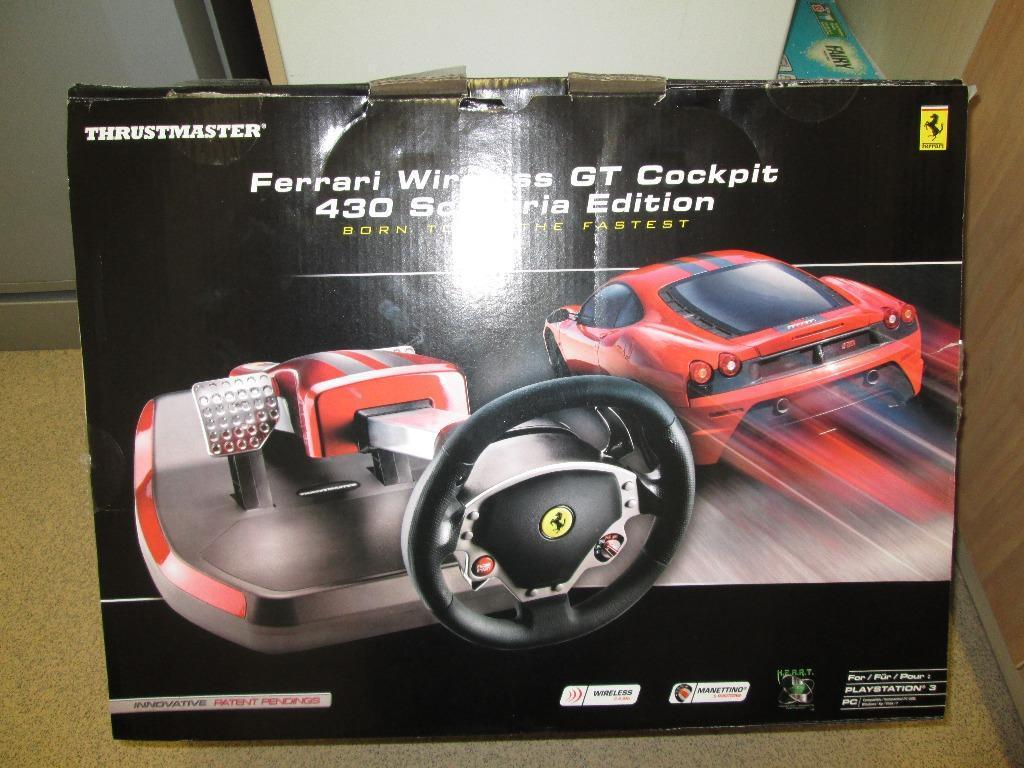 New Thrustmaster Ferrari Buy Sale And Trade Ads Great