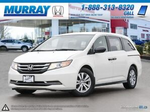 2015 Honda Odyssey SE *8 PASSENGER, BLUETOOTH, BACK UP CAMERA*