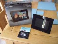 two, brand new, never been used, digital photo frames