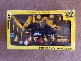 Jcb junior model backhoe loader set