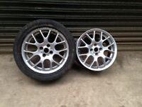 """16"""" alloys wheels 4x100 - need a refurb"""