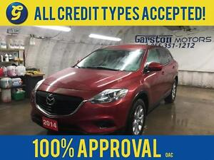 2014 Mazda CX-9 AWD*7 SEATER*REVERSE CAMERA*KEYLESS ENTRY*ALLOYS