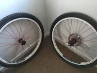 """Mtb 26"""" dirt jump wheels"""