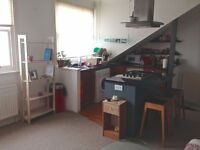 Single room available in a centric 2 bedroom flat