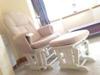 Reclining Gliding Nursing Chair