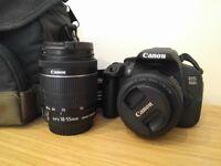 Canon EOS 700D + accessories, excellent condition