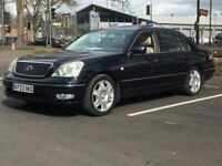 2003 LEXUS LS430 * CHOICE OF 2 IN STOCK * SAT NAV * LEAHTER * FULLY LOADED * PAR EX * DELIVERY *