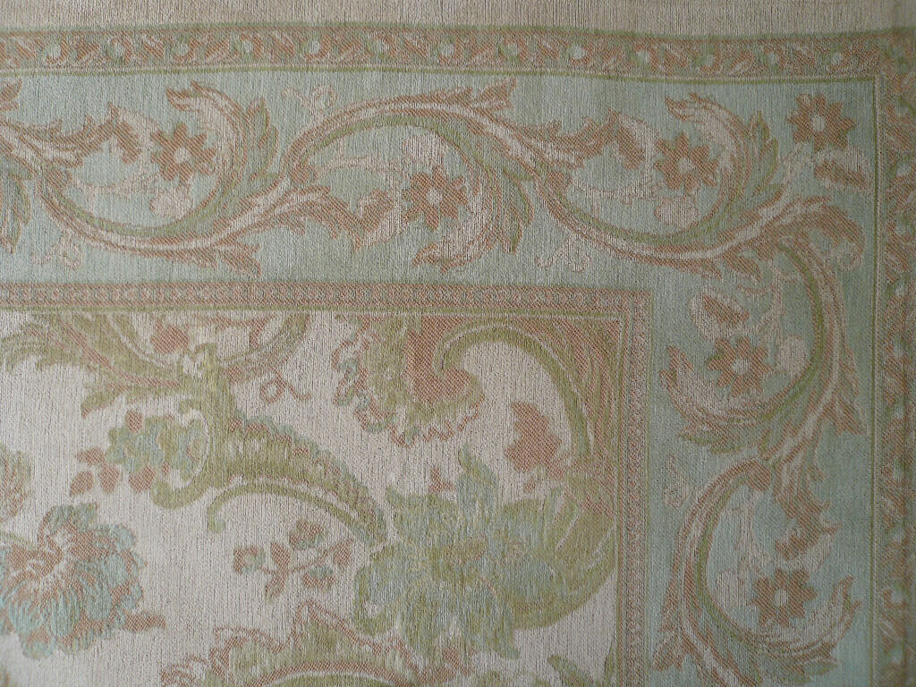 Laura Ashley Massive Baroque Rug Duck Egg Excellent