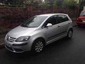 VW Golf Plus 1.6 FSI. 12 Months MOT to May 2018. Selling cheap as travelling to Australia!