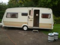 4 berth fleetwood touring caravan